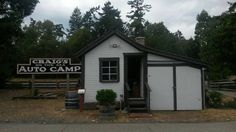 Craig on the Sea, AutoCamp (Craig One of 8 heritage buildings located in Parksville Museum. Back In Time, Beach House, Buildings, Shed, Museum, Community, Outdoor Structures, Beach Homes, Museums