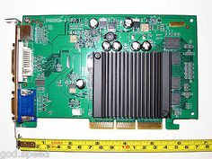 ﹩49.99. HP Pavilion 754n 256MB DDR2 AGP 8X 4X VGA+DVI+S/Video Video Graphics Card    Chipset/GPU Manufacturer - NVIDIA, Chipset/GPU Compatible Port/Slot - AGP 4x/8x, APIs - Shader Connectors - DVI Output, Memory Type - DDR2 SDRAM, Memory Size - 256 MB, Cooling Component(s) Included - Heatsink only, Enclosure Type - VGA+DVI+HDTV, Device Type - Video Graphics Card, OS Supported - Windows 10/8/7/Vista/XP/2003/2000/ME/98/Linux,