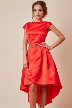 Rochie Tafta Asimetrica Rosie One Shoulder, Shoulder Dress, Victoria, Vintage, Dresses, Style, Fashion, Vestidos, Swag