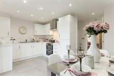 How much are Taylor Wimpey options and extras? You can find out here what I bought and how much they cost me for my Gosford! Kitchen Room Design, Kitchen Layout, Kitchen Interior, Kitchen Decor, Kitchen Ideas, Grey Kitchens, Home Kitchens, Exeter, Wimpey Homes