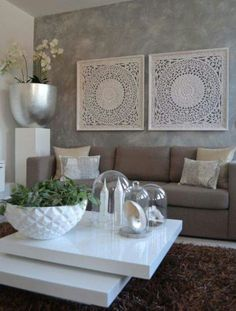 These living room decor ideas become the trendiest look to create a beautiful decoration which everyone will love! Pick one for your own living room now! Living Room Designs, Living Room Decor, Living Rooms, Decor Room, Thai Decor, Modern Interior, Interior Design, Room Interior, Interior Ideas