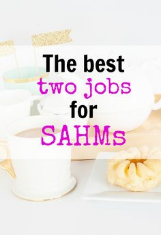 The best work from home jobs for moms. Best jobs for SAHMs. Moms! Are you looking to make some extra money from home? Whether you want just a few hundred or if you want to completely replace the income from your day job, here's how you can do it!