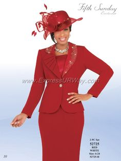 Womens Church Suits by Fifth Sunday for Spring 2014 - www.ExpressURWay.com…