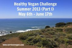 Who's in for 6 weeks of healthy #vegan living!?!