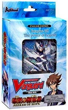Sceek.com Best Drones 2015: Cardfight Vanguard ENGLISH Trial Deck 14 Seeker of Hope (Royal Paladin Deck)