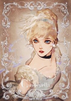 Cinderella Disney Fan Art, Disney Pixar, Disney And Dreamworks, Disney Cartoons, Disney Magic, Anime Disney Princess, Cinderella Disney, Cute Disney, Disney Girls