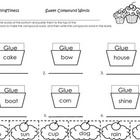 This cupcake worksheet is a sweet addition to your compound word independent practice or review. A great whole group or center activity to help you...