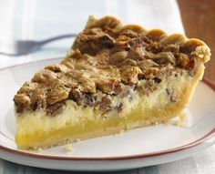 Solve the mystery when you taste the smooth cream cheese filling hiding under the rich pecan filling in this extra-special pie.