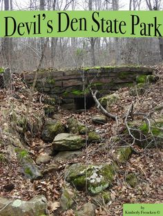 Take a field trip without ever leaving the classroom to beautiful Devil's Den State Park!