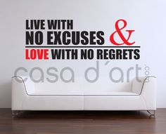 Wall-Decals.eu: Live and Love