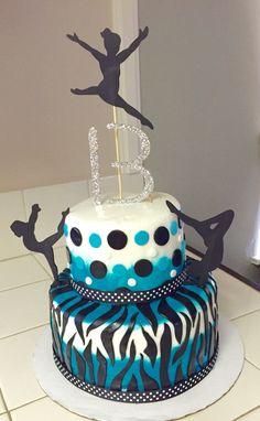 Gymnastics cake                                                                                                                                                                                 More