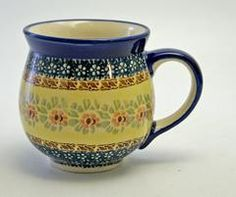 Large Belly Mug (Bountiful Blossoms)