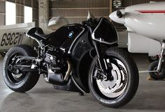 This got my heart rate going - What a beauty: Cherry's BMW R Nine T Highway Fighter via Return of the Cafe Racers