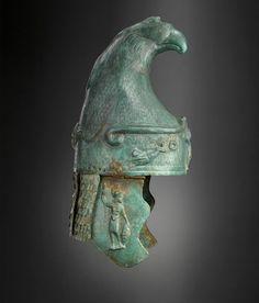 Roman bronze helmet, ca 100 A.D.
