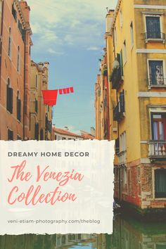 Give your walls a dreamy quality with moody fine-art prints from Venice, Italy. Whether it's your soulmate city or a place you'd love to visit one day, you'll find inspiration in these dreamy photographs, in color or black and white.