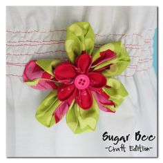 How to - Fabric Flower