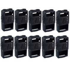Retevis Rubber Soft Handheld 2 Way Radio Case Holster Protection for Baofeng BFUV5R UV5RV UV5RE UV5R UV985 Retevis RT5R RT5RV WalkIe Talkies 10 Pack *** Click image to review more details.(This is an Amazon affiliate link)