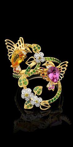 Master Exclusive Jewellery - Коллекция - Birds of paradise