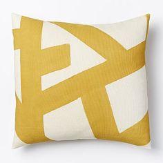Kisanii Pillow Cover - Plantain/Natural