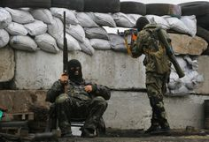 The presence of 40,000 Russian troops just over the border  Ukraine Says That Militants Won the East - NYTimes.com