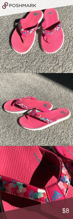 d1b0dac70024 Adidas Flip flops ☀ Summer is coming!!! Girls 3 Supercloud plus