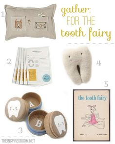 cute tooth fairy ideas.