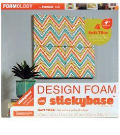 Headboard  Amazon.com - Foamology 4-Piece Design Foam Tile, 12 by 12 by 1-Inch -