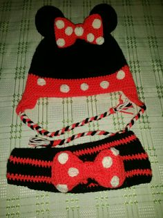 My first Minnie mouse set