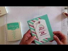 Merry Little Christmas card kit - easy way to make handmade cards this year. Order at http://jodireinert.stampinup.net