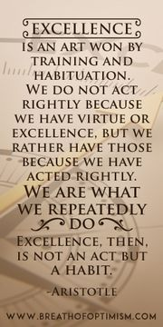 We Are What We Repeatedly Do #quote #motivation http://www.breathofoptimism.com/ #motivation employee motivation