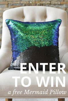 Mermaid Pillow Co.   { mermaidpillowco.com }
