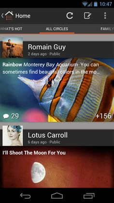 New Google+ Android App Adds Vivid Imagery & Additional Functionality