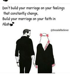 Singles: Choose one who's aqeedah matches urs so tht ur child is raised properly n generations too! Islamic Quotes On Marriage, Muslim Couple Quotes, Islam Marriage, Muslim Love Quotes, Love In Islam, Quran Quotes Love, Beautiful Islamic Quotes, Islamic Inspirational Quotes, Words Quotes