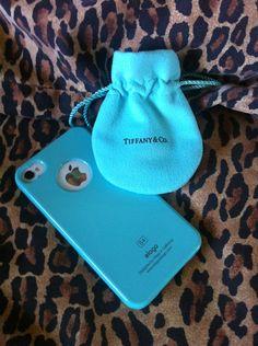 Tiffany blue IPhone case