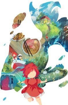 Totoro, Studio Ghibli Art, Studio Ghibli Movies, Animes Wallpapers, Cute Wallpapers, Personajes Studio Ghibli, Art Anime, Hayao Miyazaki, Animation