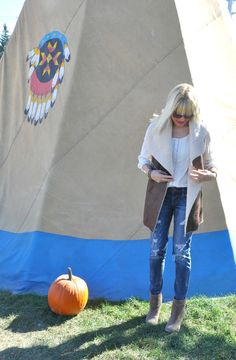 Teepees and hayrides. — 101 things i love