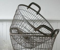 I'm thinking about using a wire basket under the in my bathroom to hold towels.