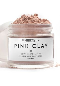 The best organic skincare and beauty products on the market including this exfoliating clay from Herbivore.