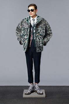 99366ec73bdd Thom Browne F W 14. New York Fashion
