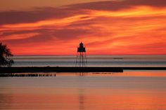 Sunrise on Grand Marais Bay May 2012 Photograph  - Sunrise on Grand Marais Bay May 2012 Fine Art Print