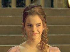 Hermione Yule ball hair front