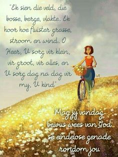 Evening Greetings, Good Morning Greetings, Good Morning Quotes, Goeie Nag, Goeie More, Afrikaans Quotes, Special Quotes, Positive Thoughts, Verses