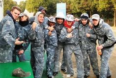 How paintball brings people together