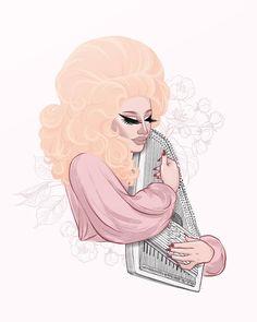 Trixie Mattel, RuPaul's Drag Race, Two Birds, Drag Queen Fan Art