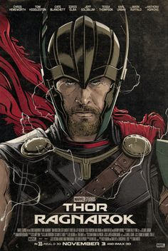 "theavengers: ""Thor: Ragnarok exclusive poster by Cristiano Siqueira """