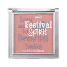 Mihaela Testfamily: Neue Limited Edition von p2: Festival Spirit steht in den Startlöchern!  http://www.mihaela-testfamily.de   #p2festivalspirit #p2 #dm #Beauty #FestivalSpirit #Limited Edition #PoemBlush