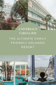 Family Friendly Orlando Resort- Cabana Bay