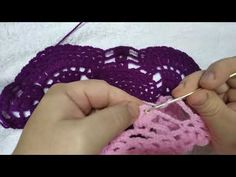 εύκολο πλεκτό σάλι με το βελονάκι μέρος 3.easy knitted shawl with crochet part 3.irene crochet - YouTube Crochet Shawl, Shawls, Crochet Necklace, Youtube, Crochet Scarfs, Youtubers, Youtube Movies