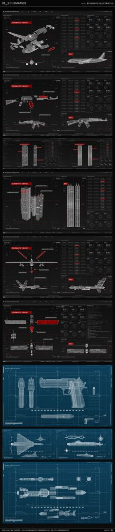 HUD UI Graphics Package [1000+] The biggest HUD and User Interface Template Package on the web. Featuring a wide range of UI Screens and Window Designs suitable for screen replacements and heads...