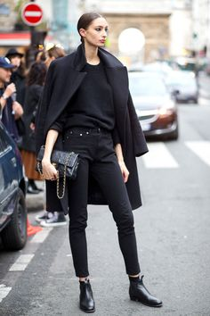 60 Chic Fall Outfit Ideas  - HarpersBAZAAR.com